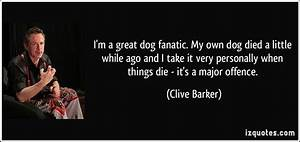 quotes about your dog dying