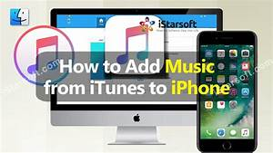 How to Add Music from iTunes to iPhone - YouTube