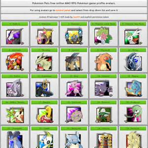 pokemon pets pokemon online mmorpg game free play browser based gameplay screenshot photo