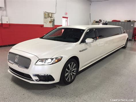 New Lincoln Limo by New 2017 Lincoln Continental Sedan Stretch Limo