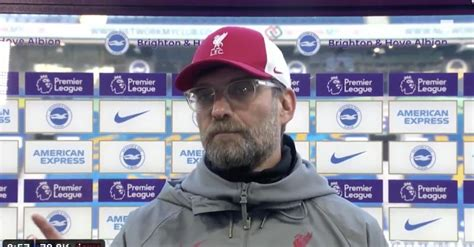 (Video) Klopp finishes 'selfish' Chris Wilder: 'They have ...