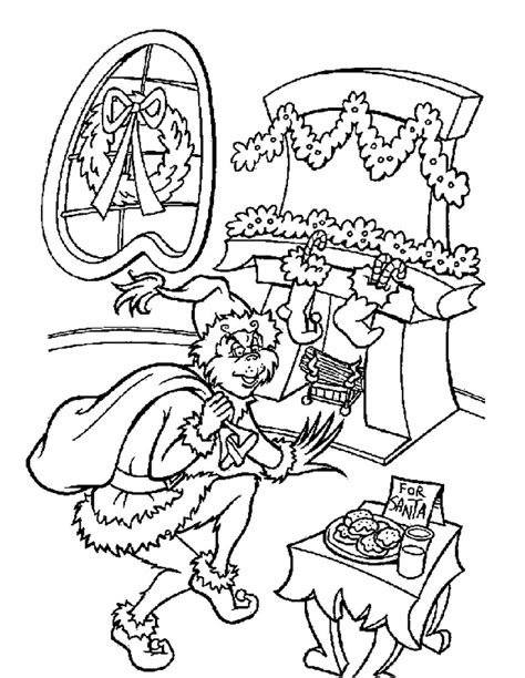 grinch coloring page free printable grinch coloring pages for