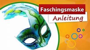 Faschingsmasken Selber Machen : faschingsmaske anleitung zum selber machen trendmarkt24 youtube ~ Eleganceandgraceweddings.com Haus und Dekorationen