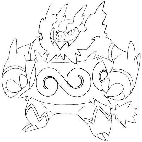 immagini di pokémon da disegnare il emboar disegno da colorare disegni da