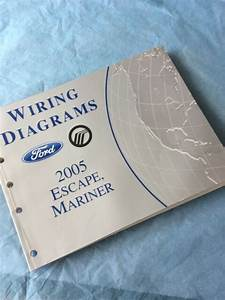 2005 Ford Escape Electrical Wiring Diagrams Service Manual