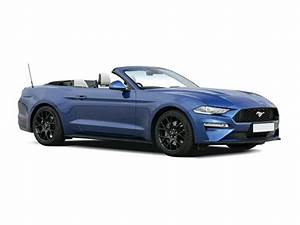Ford Mustang Convertible 5.0 V8 449 GT [Custom Pack 2] 2dr Lease Deals - What Car? Leasing