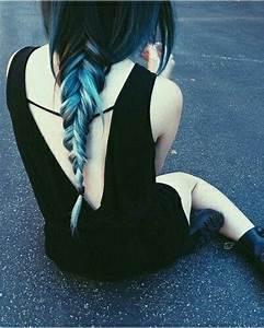 Blaue Haare Ombre : blaue haare coloured hair pinterest ps haar und blau ~ Frokenaadalensverden.com Haus und Dekorationen