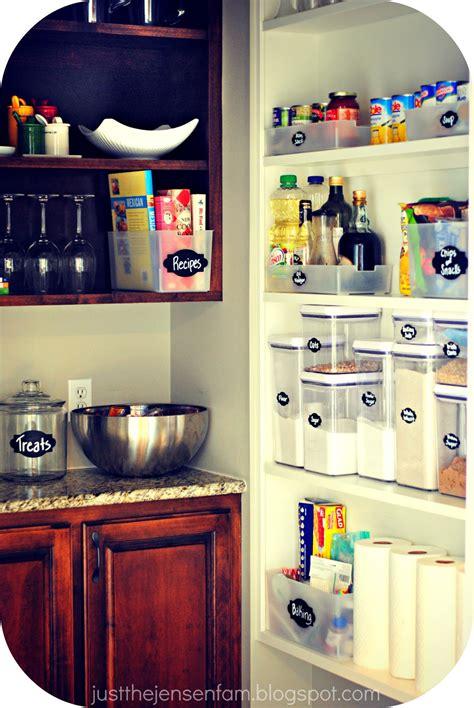 jensen family diy pantry organization
