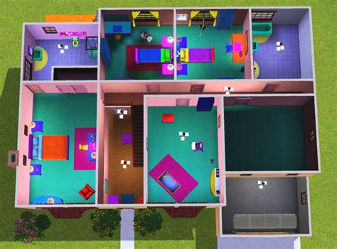 plan maison sims 2 studio design gallery best design