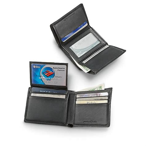 wallet currency 404 black 39 s royce leather passport travel wallet 160035