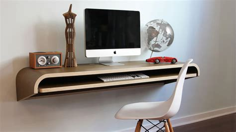 wall mounted desks  perfect  small spaces