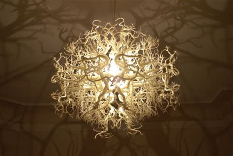 Chandelier Forest by A Chandelier That Turns The Room Into A Forest Emdeco