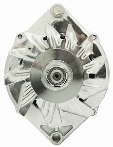 Brand New Chrome Alternator To Suit Chevrolet Camaro 5 7l 350 V8 1974