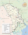 Political Map of Moldova - Nations Online Project