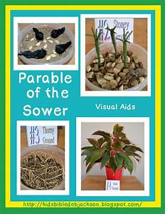 Bible, Fun, For, Kids, Parable, Of, The, Sower