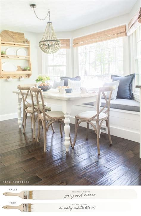 new england neutral paint color scheme dining room ideas