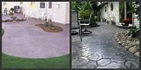 perfect patio design ideas concrete Stamped Concrete Patios - Design Tips For A Stamped Concrete Patio