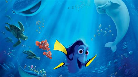 wallpaper finding dory  movies animation pixar