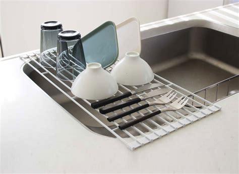 egouttoir cuisine egouttoir vaisselle egouttoir vaisselle en bambou zeller
