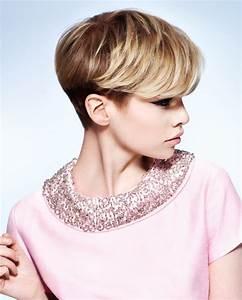 Coupe Longue Femme : coupe courte femme blonde parce que la crini re xs c est ~ Dallasstarsshop.com Idées de Décoration