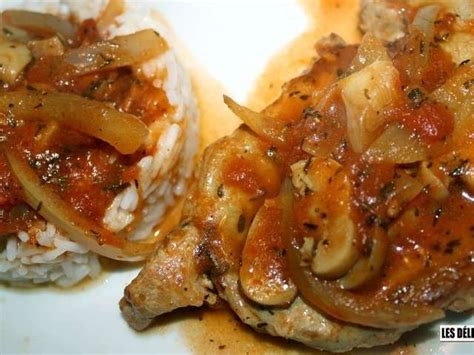 les meilleures recettes de porc et côte de porc