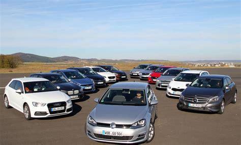 Golf 7 2012 Vergleich Kompaktklasse Konkurrenz by Neuer Vw Golf 7 Tdi Im Test 13 Kompaktklasse Modelle Im
