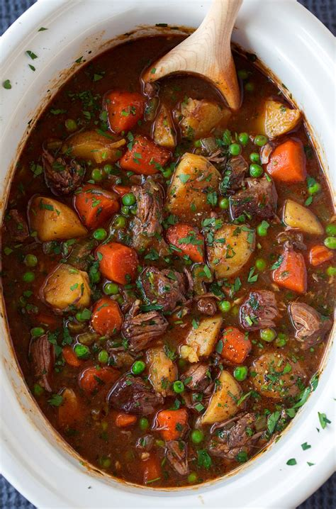 slow cooker beef stew cooking classy