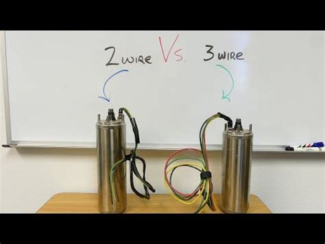 Wiring 2wire House by 2 Wire Vs 3 Wire Well Motors