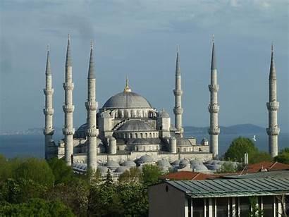 Mosque Istanbul 48houradventure Mecca Minarets Place