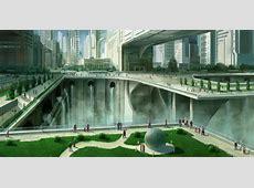 Futuristic city 2 by JoakimOlofsson on DeviantArt