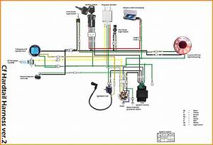 200cc Lifan Wiring Diagram - Youtube
