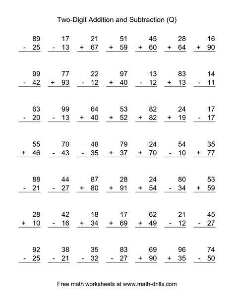 2 Grade Math Worksheets Pdf Worksheets For All  Download And Share Worksheets  Free On