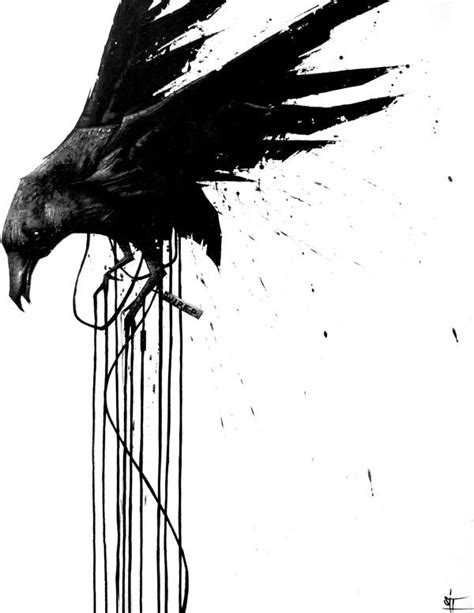 Unwired series by SIT | Art | Raven art, Raven tattoo y Raven pictures