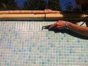 renovation des joints piscine beton sur sanary With refaire joints carrelage piscine