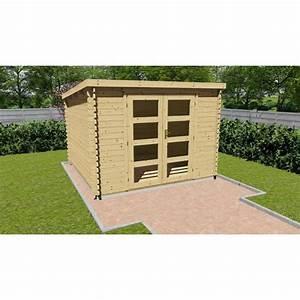 Abri De Jardin Toit Plat 10m2 : abri de jardin toit plat achat vente pas cher ~ Nature-et-papiers.com Idées de Décoration