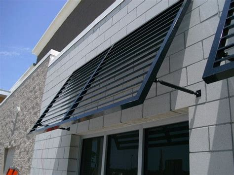 fabric metal awnings pioneer awnings llc monticello fl louver systems im