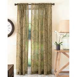better homes and gardens tapestry sheer curtain panel