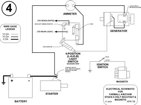 Farmall Stock Mageto Generator Cutout