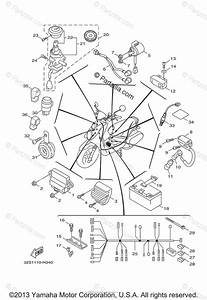 Yamaha Scooter 2011 Oem Parts Diagram For Electrical