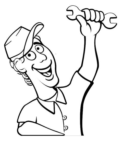 mechanic clipart black and white auto mechanic clipart clipart best