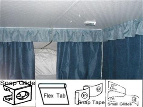 pop  camper curtains