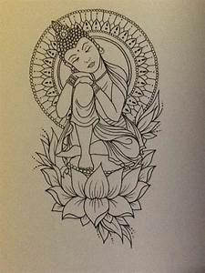 buddha sketch drawings   Tumblr