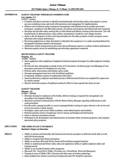 trainer resume exles financial counselor cover letter