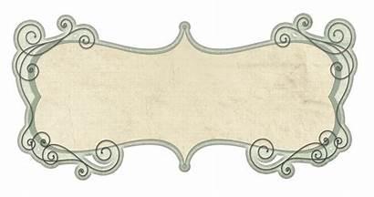 Label Templates Frame Frames Border Borders Vector
