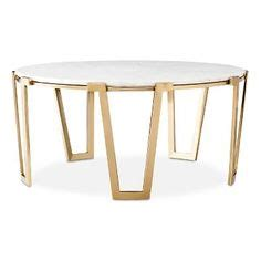 nate berkus brass and marble coffee table family room by blogger home with keki featuring world
