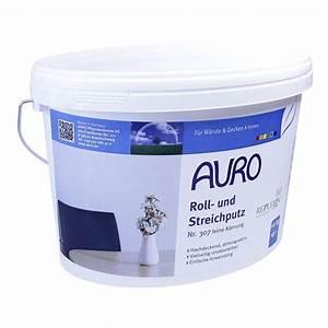 Roll Und Streichputz : auro roll und streichputz feine k rnung nr 307 16 kg au ~ Frokenaadalensverden.com Haus und Dekorationen