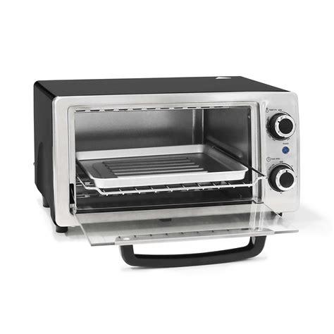 Elite Cuisine 4 Slice Toaster Oven - elite cuisine eka 9210ss 4 slice stainless steel toaster