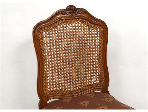 chaise louis xv cann 233 e noyer sculpt 233 fleurs antique chair xviii 232 me