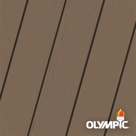 olympic maximum  gal autumn brown solid color exterior