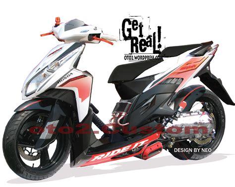 Modifikasi Vario Techno 150 by Motor Cycle Modifikasi Modifikasi Honda Vario Cbs Techno